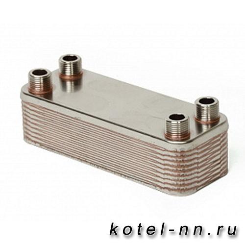 Теплообменник пластинчатый резьбовое подключение Bosch, Buderus