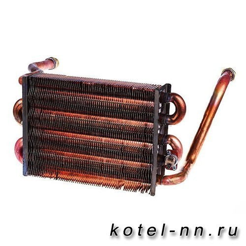 Теплообменник первичный Bosch Gaz 6000 12С, 18C, 18H арт. 87186446380