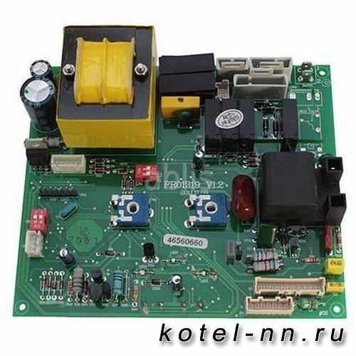 Плата управления с дисплеем для котлов Ferroli Domina Pro (46560640) 398000040