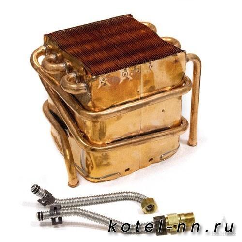 Теплообменник BaltGaz арт.4710-07.000 в компл. с трубами