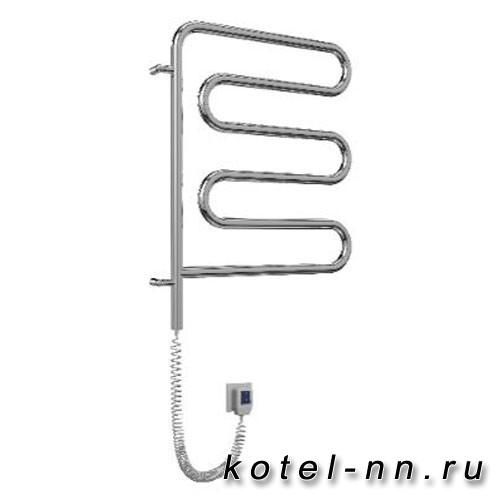 Полотенцесушитель электрический Terminus Ш-образные-поворотные Электро 25 Ш-обр 450х570 поворотный