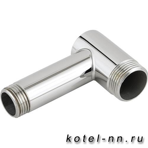 """Уголок переходной Стилье G 3/4"""" НР х G 1/2"""" НР (Без покрытия)"""