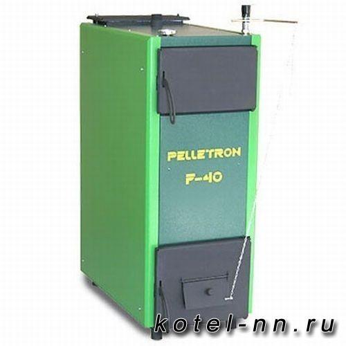 Твердотопливный котел Pelletron Ferrum-40