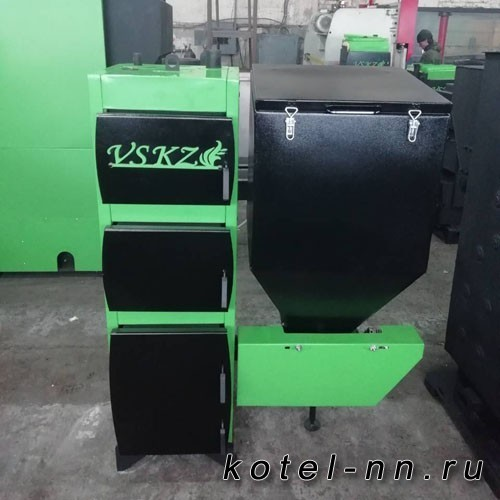 Твердотопливный котел VSKZ GREENECO-PLUS 85
