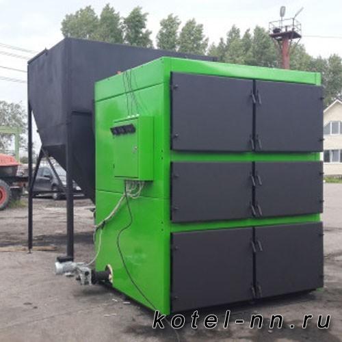Твердотопливный котел VSKZ GREENECO-DUO 400