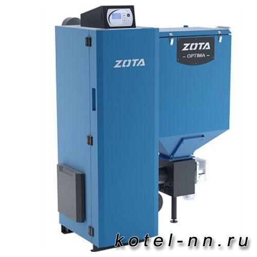 Пеллетный котел длительного горения ZOTA Optima 32