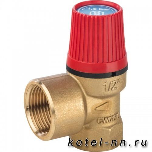 Клапан предохранительный STOUT 25 x 1/2