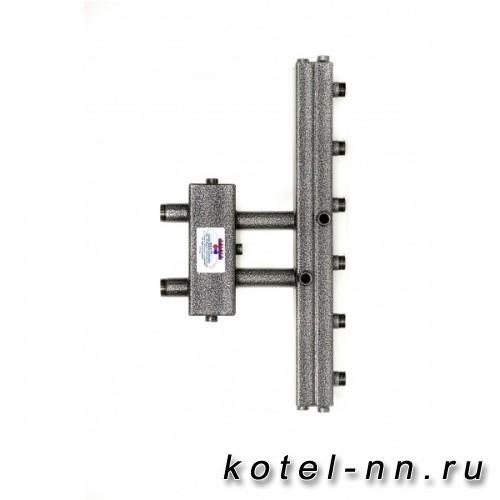 Распределительный коллектор совмещенный с гидравлическим разделителем на 3 контура, арт, ГК3V-70