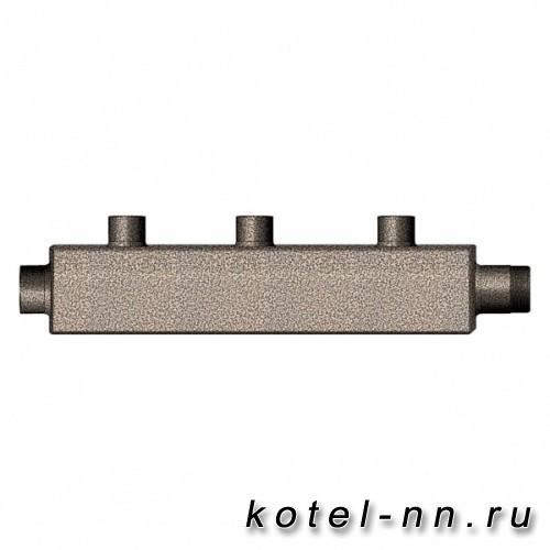 Распределительный коллектор на 3 патрубка потребителей, арт. К3-70