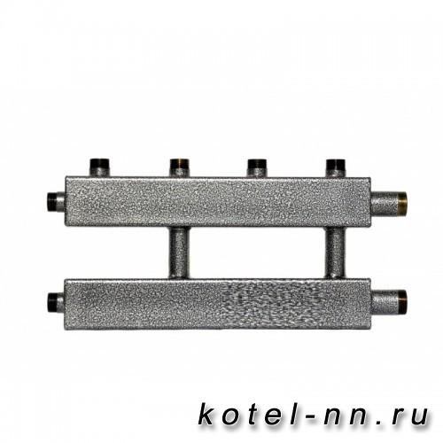 Распределительный коллектор на 3 контура, арт. 2К2/1-70