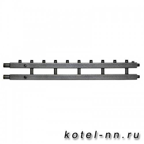 Распределительный коллектор на 6 контуров, арт. 2К6-110