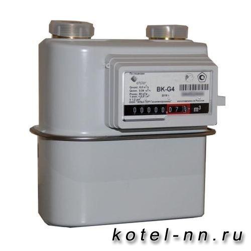 Газовый счетчик Elstar BK G4 правый