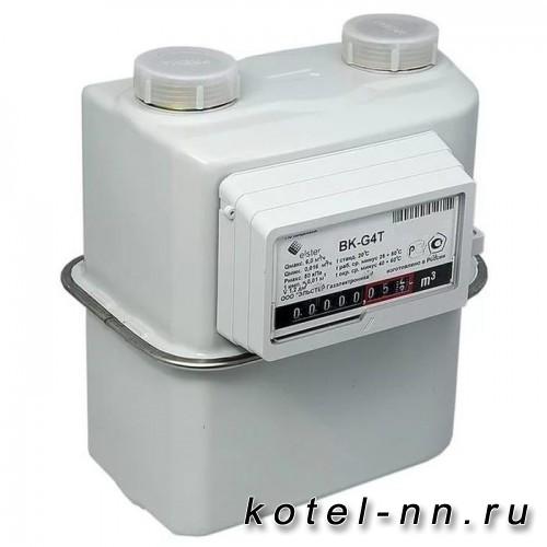 Газовый счетчик Elstar BK G4Т с термокорректором, правый