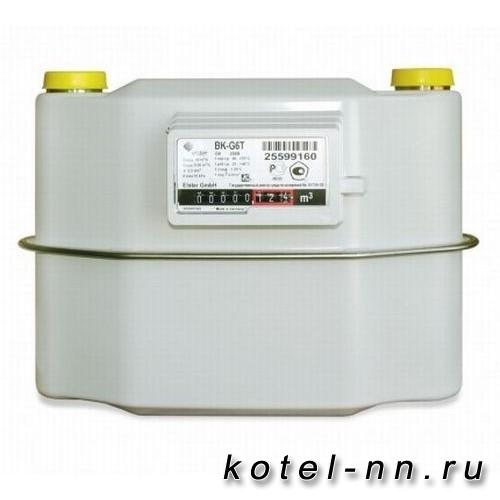 Газовый счетчик Elstar BK G6Т с термокорректором, левый