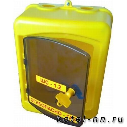Шкаф ШС-1,2 пл для счетчика газа (для G4), с дверцей