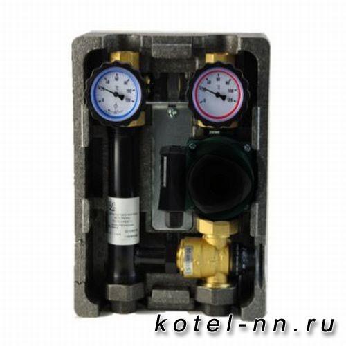 "Группа быстрого монтажа NED Thermo InstallHEAT BMU-T-40-25-NP с термостатическим смесителем 1"""
