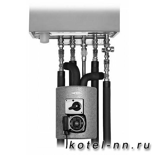 Насосно-смесительные модуль MEIBES Thermix с электрическим сервоприводом, с насосом UPS 15-50 MBP