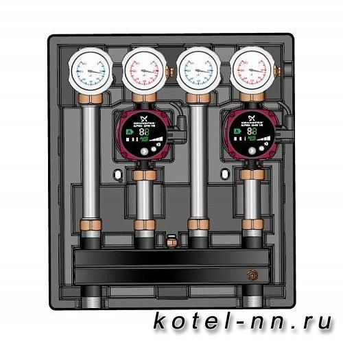 Насосно-смесительный модуль MEIBES Kombimix UK_MK без насоса