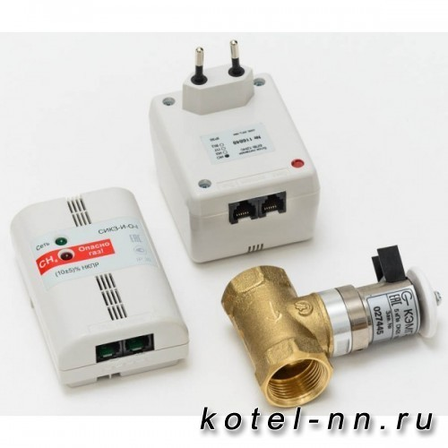 Сигнализатор загазованности СИКЗ-25 с клапаном