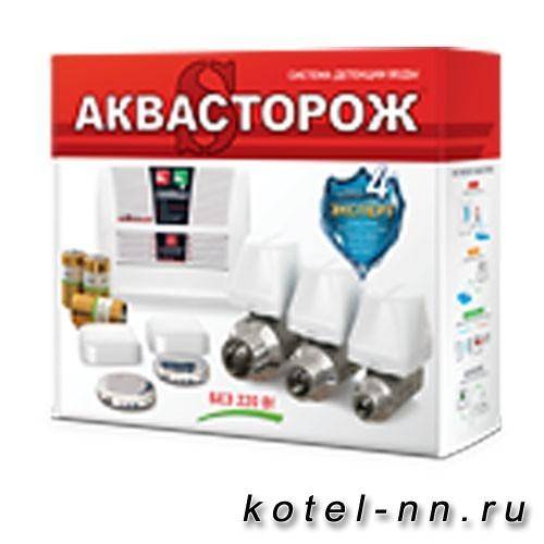 Система защиты при протечках Аквасторож Эксперт Радио PRO 1*25*2д беспроводная