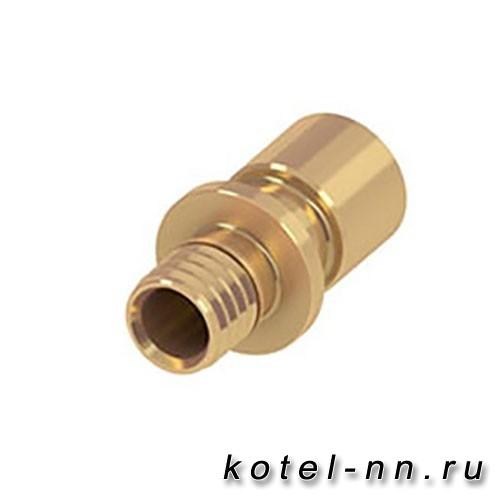 Адаптер на медную трубу латунь Tece 16 х 15/18 мм Cu 713916