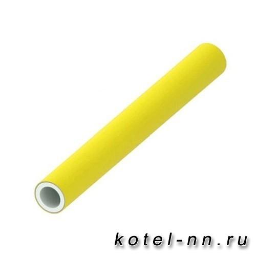 Многослойная композитная труба в штангах по 5 м. для газа Tece TECEflex PE-Xc/Al/PE-RT 50 732450