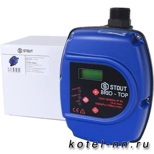 Устройство управления насосом STOUT BRIO-TOP