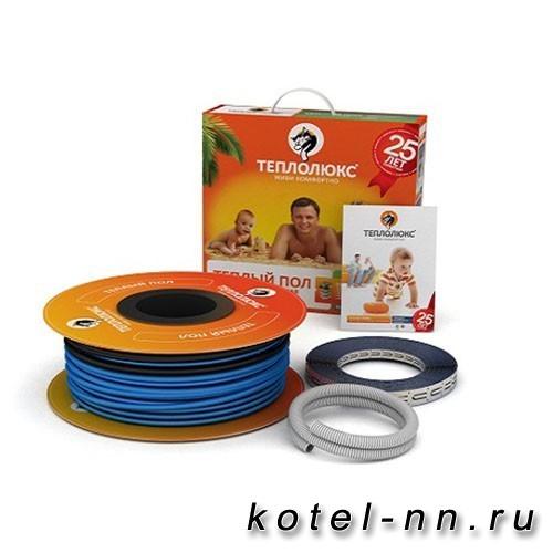 Нагревательный кабель Теплолюкс ТЛБЭ 630Вт 3,5-4,2 м2