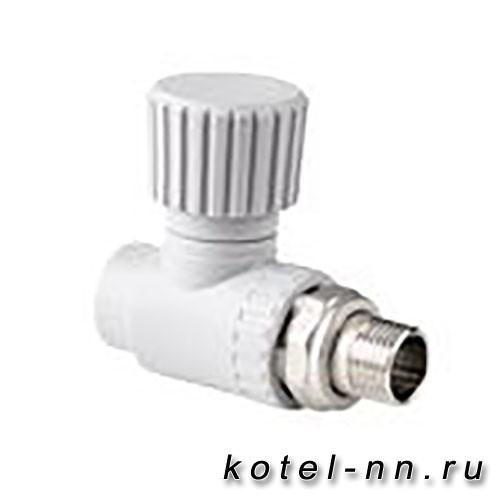 Вентиль РосТурПласт для радиатора прямой 20х1/2