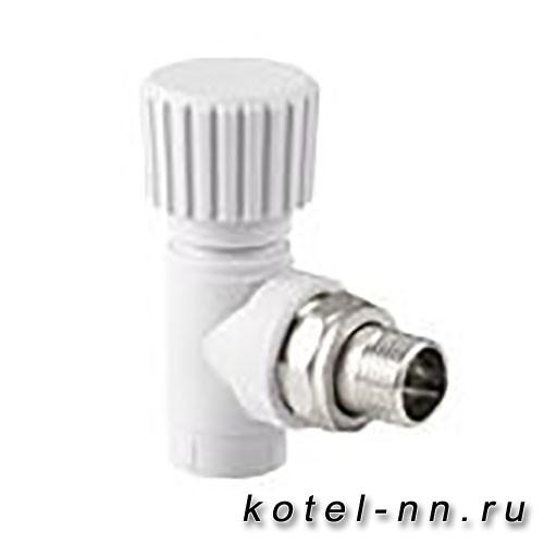 Вентиль РосТурПласт для радиатора угловой 25х3/4