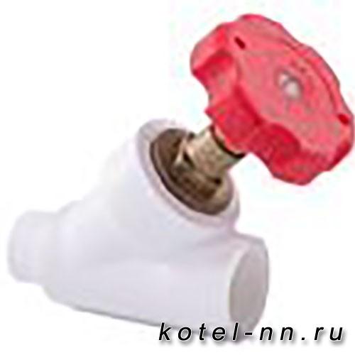 Вентиль РосТурПласт 45° внутр/наруж  25 арт.14220