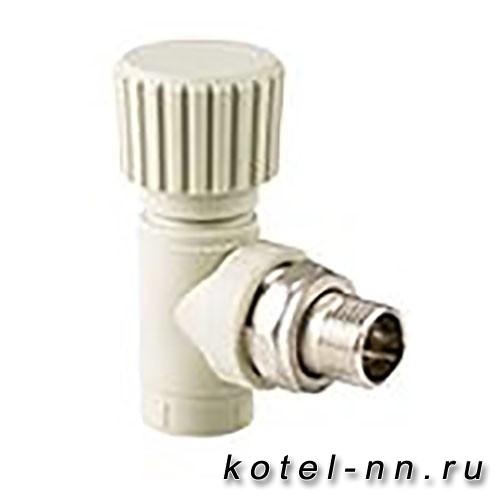 Вентиль РосТурПласт для радиатора угловой 20х1/2