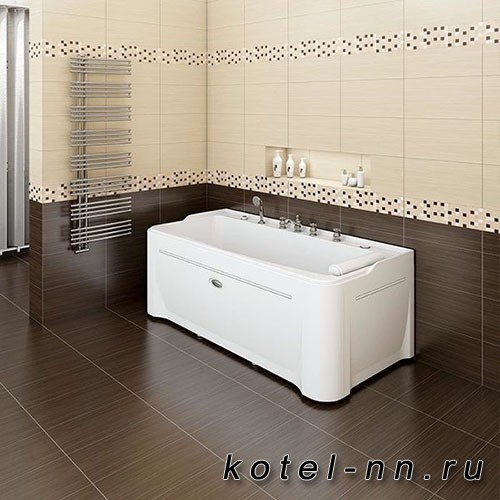 Акриловая ванна Радомир Винченцо 180x85, с рамой-подставкой (1-01-0-0-1-134)