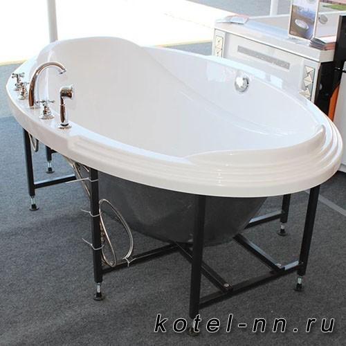 Акриловая ванна Радомир (Fra Grande) Гранада 185х119, с рамой-подставкой (4-01-0-0-1-403)