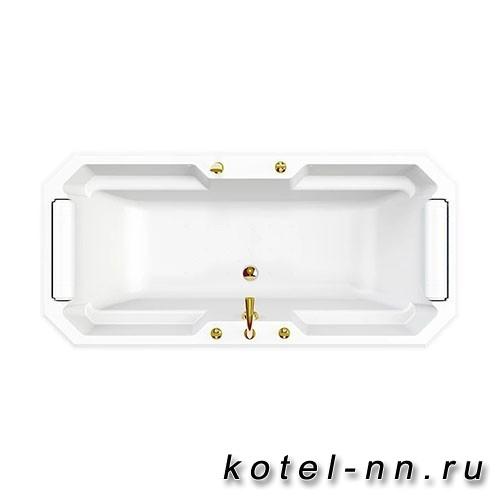 Гидромассажная ванна Радомир (Fra Grande) Фернандо-GOLD 190х90, на ножках (4-01-3-0-0-422)