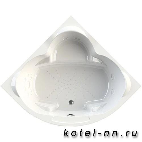 Акриловая ванна Радомир Сорренто 3 130x130, с рамой-подставкой (1-01-0-0-1-039)