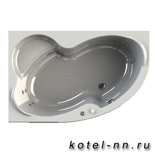 Гидромассажная ванна Радомир (Вахтер) Ирма 150х97 L форсунки белые (3-01-1-1-0-313)