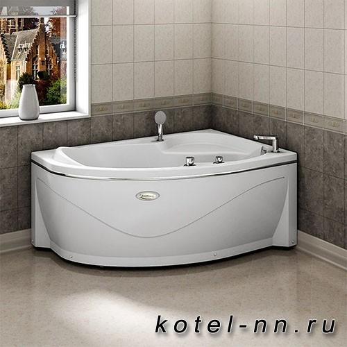 Акриловая ванна Радомир Амелия 160x105 R, с рамой-подставкой (1-01-0-2-1-017)