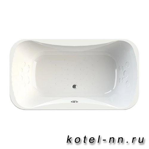 Акриловая ванна Радомир Лион 200x100, с рамой-подставкой (1-01-0-0-1-030)