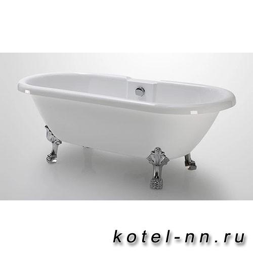 Акриловая ванна Радомир Леонесса 1 175х80, на ножках (комплектация хром, перламутр) (1-01-2-0-1-138П)