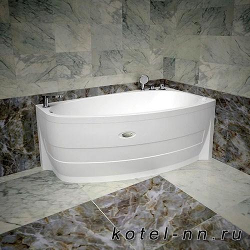 Акриловая ванна Радомир Орсини 160х90, R с рамой-подставкой (1-01-0-2-1-032)