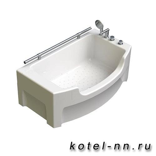 Акриловая ванна Радомир Чарли 120х69, с рамой-подставкой (0-01-0-0-1-990)