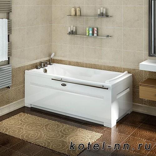 Акриловая ванна Радомир Вега 168x78 R, с рамой-подставкой (1-01-0-2-1-023)