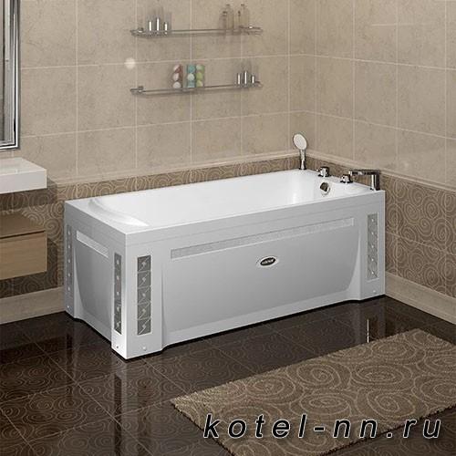 Акриловая ванна Радомир Ларедо 160х70, с рамой-подставкой (1-01-0-0-1-028)