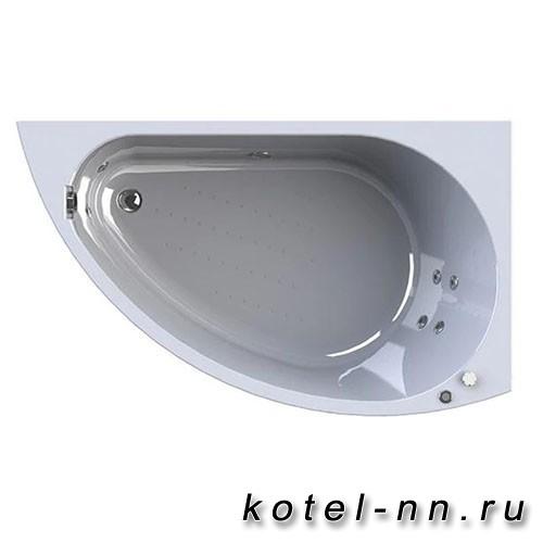Гидромассажная ванна Радомир (Вахтер) Бергамо 1680х1000, R форсунки хром (3-01-2-2-0-312)
