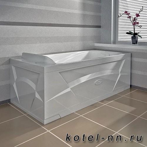 Гидромассажная ванна Радомир (Вахтер) Роза 1690х770, форсунки хром (3-01-2-0-0-307)