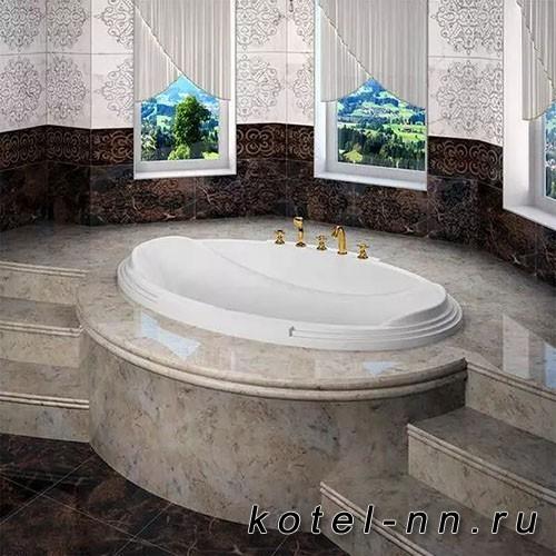 Акриловая ванна Радомир (Fra Grande) Гранада 185х119, с рамой-подставкой (4-01-0-0-1-403П)