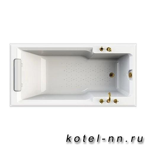 Акриловая ванна Радомир (Fra Grande) Руссильон 180х90, на ножках (комплектация бронза) (4-01-4-0-1-423)