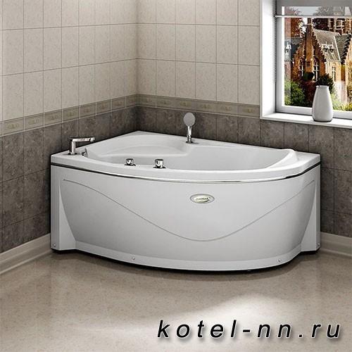 Акриловая ванна Радомир Амелия 160x105 L, с рамой-подставкой (1-01-0-1-1-017)