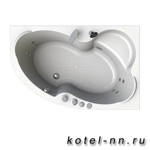 Гидромассажная ванна Радомир (Вахтер) Ирма 160х105 R форсунки белые (3-01-1-2-0-321)